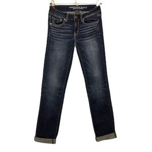 AMERICAN EAGLE Straight Super Stretch Jeans - Tall
